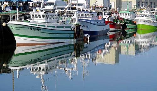 bateau de peche grandcamp-maisy