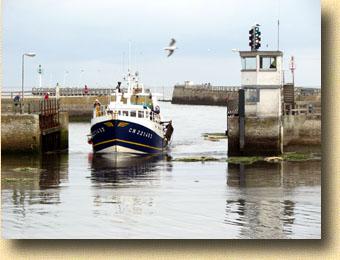 anciens bateaux de pêche de grandcamp maisy